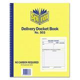 Spirax Delivery Docket Book Quarto #503