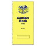 Spirax Counter Book 543 297 x 135mm