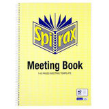 Spirax Meeting Book A4 140 Pg
