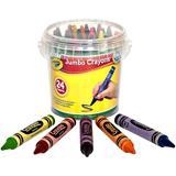 Crayola Jumbo Wax Crayons