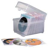 Kensington CD Box with Sleeves 100Cap