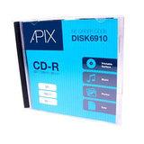 Apix Printable CD-R 700MB 80 Min 52x
