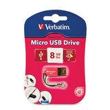 Verbatim Micro USB 2.0 Drive 8GB