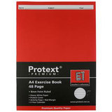 Protext Exercise Book A4 8mm 48 Pg