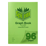 Spirax P134 A4 Graph Book 5mm 96 Pg