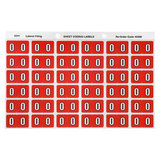 Avery Lateral Filing Labels Numeric *0*