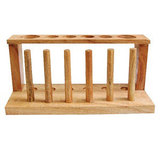 28mm Test Tube 6-Hole Rack with Pegs