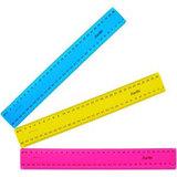 Plastic Ruler 300mm Fluorescent