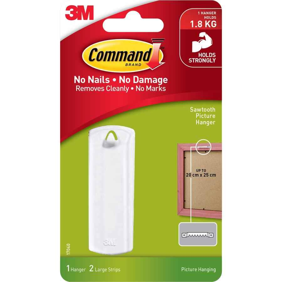 3m Command Sawtooth Picture Hanger Adhe8041 Cos