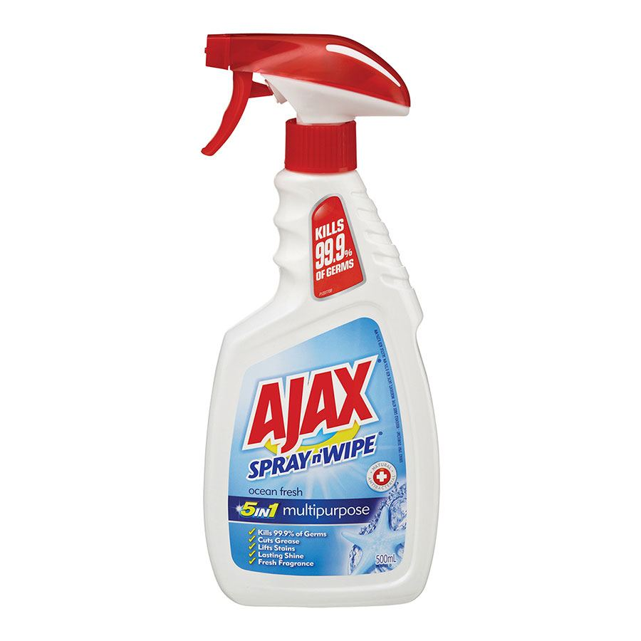 Ajax Spray N Wipe Cleaner Spray 500ml - CLEA7073 | COS ...