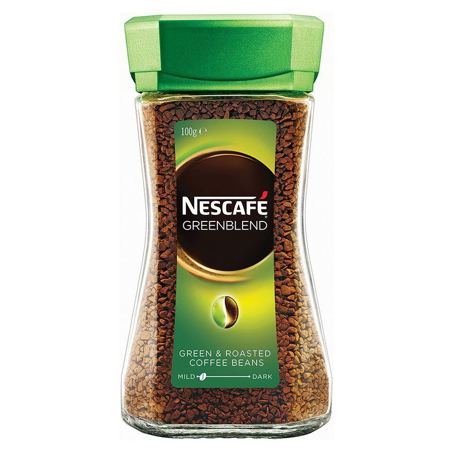 Espresso Coffee Green ~ Nescafe green blend instant coffee g coff cos