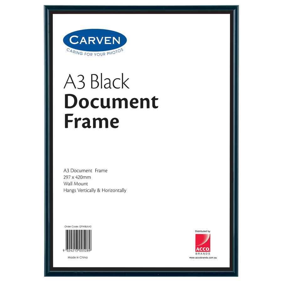 Carven Document Frame A3 Fram1015 Cos Complete