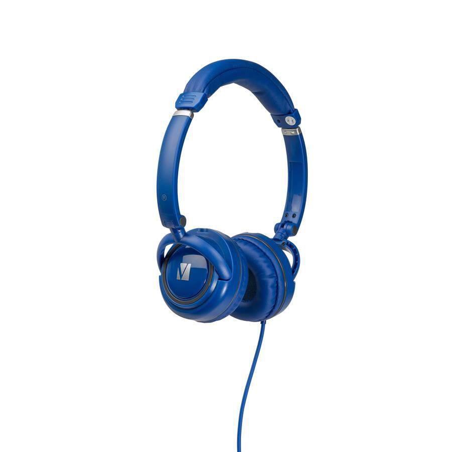 VERBATIM OVER-EAR CLASSIC AUDIO HEADPHONES - BLUE