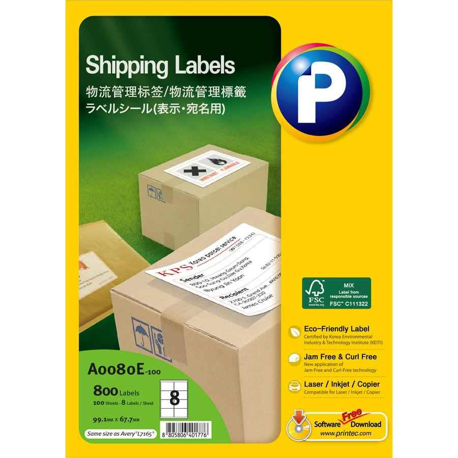 avery general use labels l7165 8 up labl5435 cos With avery 8 up labels