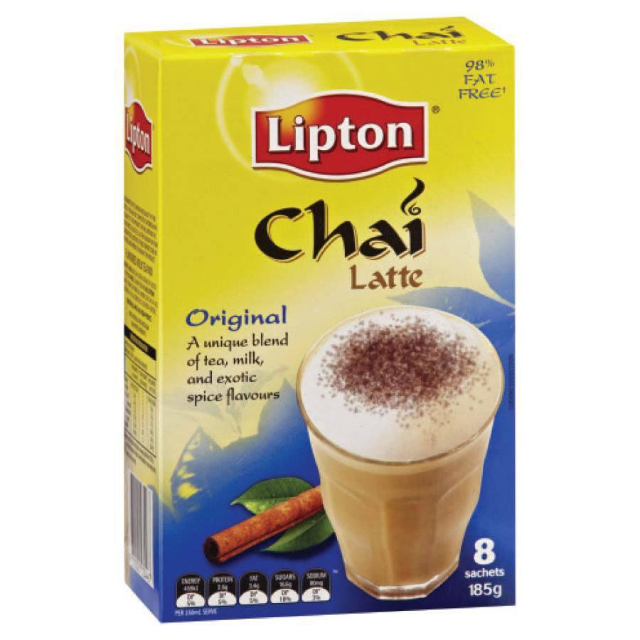 lipton chai latte original tea sachet teas6112 cos complete office supplies. Black Bedroom Furniture Sets. Home Design Ideas