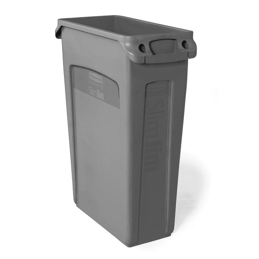 Rubbermaid waste bin slim jim 87l wast1355 cos complete office supplies - Slimline waste bin ...