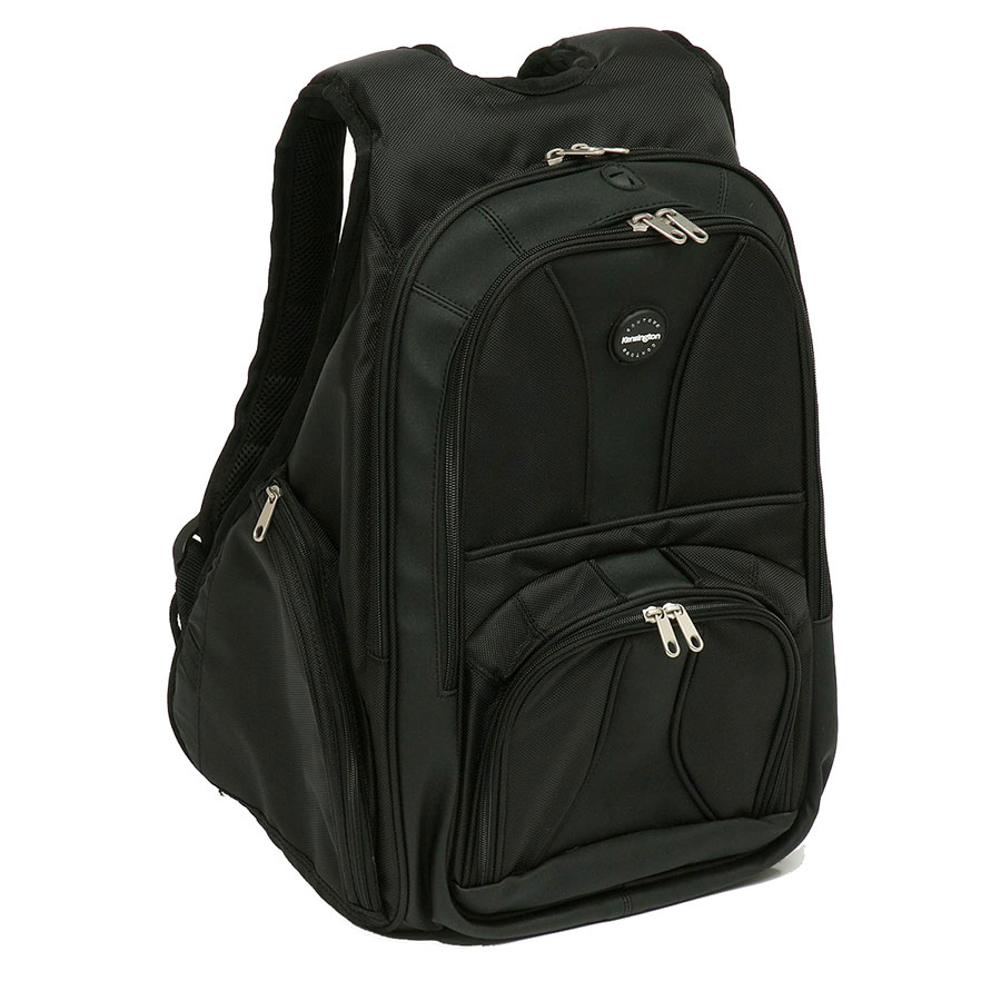 kensington laptop contour backpack 17in cos complete