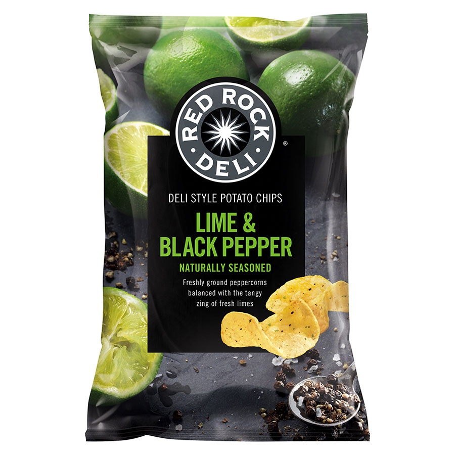 Red Rock Chip Lime Black Pepper 165g | COS - Complete ...