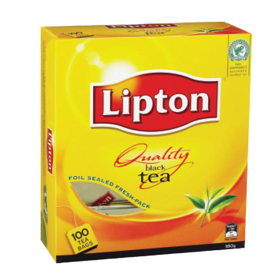 lipton black tea bags cos complete office supplies. Black Bedroom Furniture Sets. Home Design Ideas