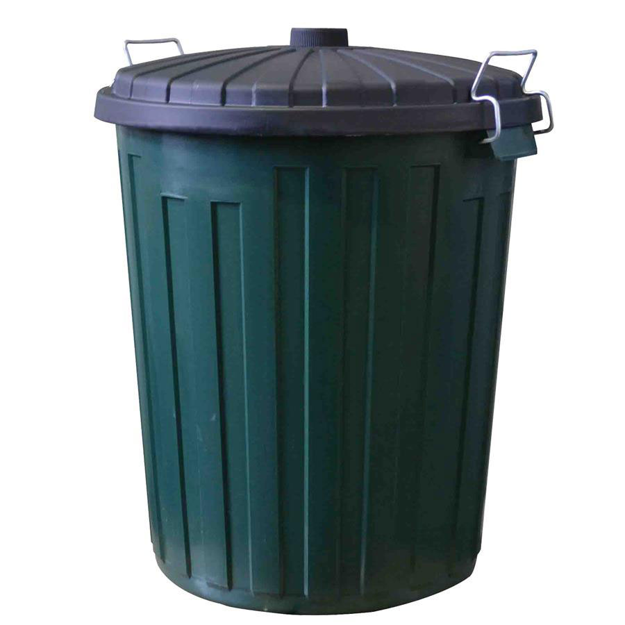 Industrial Garbage Containers : Garbage bin industrial with lid l cos complete
