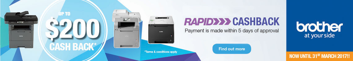 Brother Rapid Cashback
