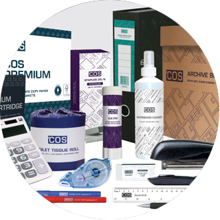 COS branded product range