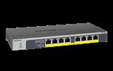 COS NETGEAR 8-Port PoE/PoE+ Gigabit Ethernet Unmana...