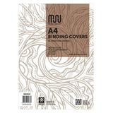BIND9121 Muru A4 Leathergrain Binding Covers