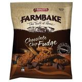 Arnotts Farmbake Choc Chip Fudge 350g
