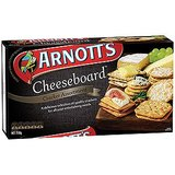 BISC5930 Arnotts Cheeseboard Savoury Biscuit 250g