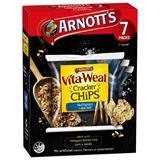 BISC6095 Vita Weat Multigrain Salt Cracker Chips