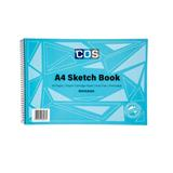 COS Spirax Sketch Book 534 A4 40 Pg