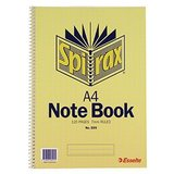 COS Spirax Notebook 595 A4 S/O 120 Pg