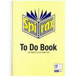 COS Spirax To-Do Book A4 706 140 Pg