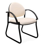 COS Enviro Sled Visitor Chair with Arms