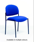 COS V100 Stackable Fabric Visitors Chair