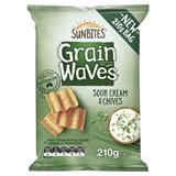 COS Grainwaves Chips Sour Cream Chives 210g