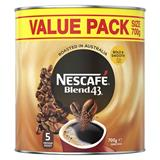 COS Nescafe Instant Coffee Blend 43 700g