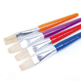 COS Micador ColourFun Flat Paint Brushes