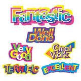 CRAF6302 Caption Motivational Merit Stickers