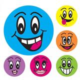 CRAF6304 Smiley Face Motivational Merit Stickers