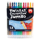 COS Micador Twistaz Colourfun Jumbo Crayons