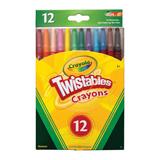 CRAY2024 Crayola Twistable Wax Crayons