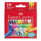 Faber-Castell Jumbo Wax Crayons