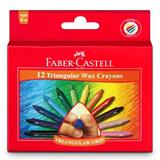 COS Faber-Castell Grip Wax Crayons
