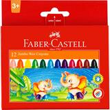 COS Faber-Castell Jumbo Wax Crayons