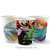 COS BioCup Single Wall Art Paper Cup 355ml