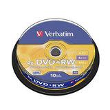 COS Verbatim DVD+RW 4.7GB 4x Spindle