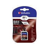 COS Verbatim SDxC Media Card Class 10 64GB