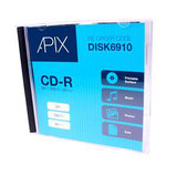 Apix Printable CD-R 700MB 80 Min 52x